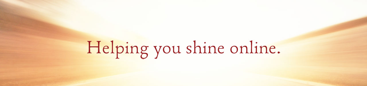 Helping you shine online.